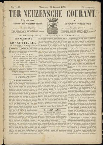 Ter Neuzensche Courant. Algemeen Nieuws- en Advertentieblad voor Zeeuwsch-Vlaanderen / Neuzensche Courant ... (idem) / (Algemeen) nieuws en advertentieblad voor Zeeuwsch-Vlaanderen 1879-01-29