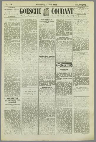 Goessche Courant 1924-07-03
