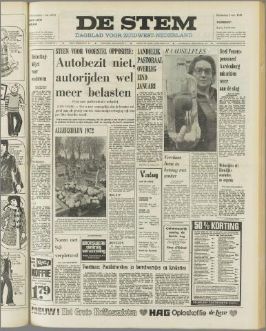 de Stem 1972-11-02