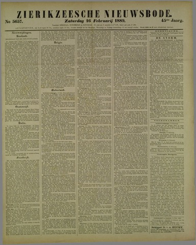 Zierikzeesche Nieuwsbode 1889-02-16