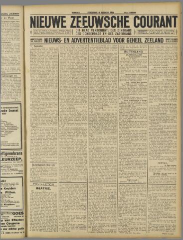 Nieuwe Zeeuwsche Courant 1926-02-18