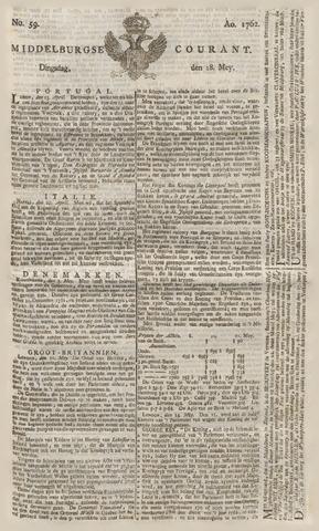 Middelburgsche Courant 1762-05-18