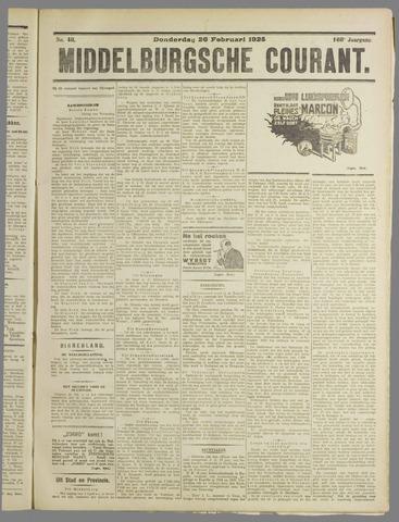 Middelburgsche Courant 1925-02-26