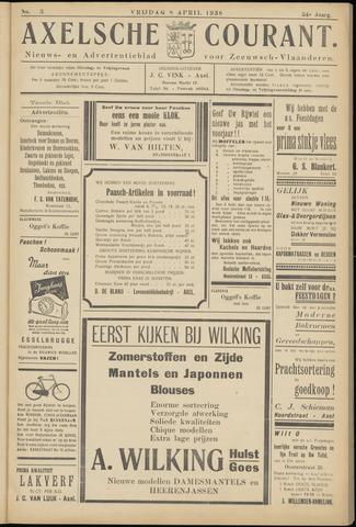Axelsche Courant 1938-04-08