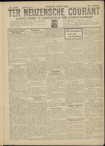 Ter Neuzensche Courant. Algemeen Nieuws- en Advertentieblad voor Zeeuwsch-Vlaanderen / Neuzensche Courant ... (idem) / (Algemeen) nieuws en advertentieblad voor Zeeuwsch-Vlaanderen 1942-01-09