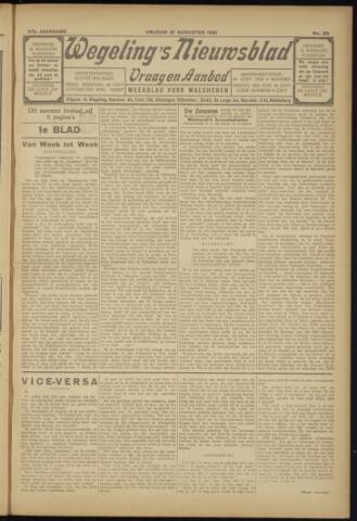 Zeeuwsch Nieuwsblad/Wegeling's Nieuwsblad 1931-08-21