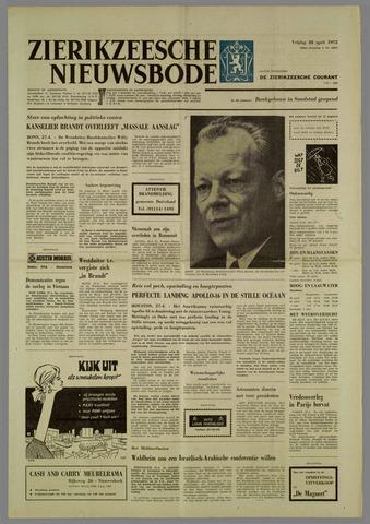 Zierikzeesche Nieuwsbode 1972-04-28