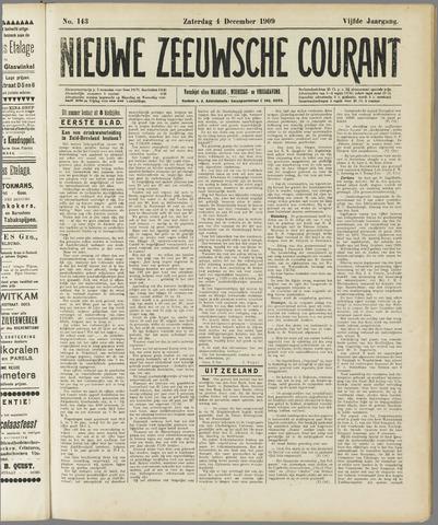 Nieuwe Zeeuwsche Courant 1909-12-04