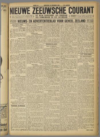 Nieuwe Zeeuwsche Courant 1923-11-29