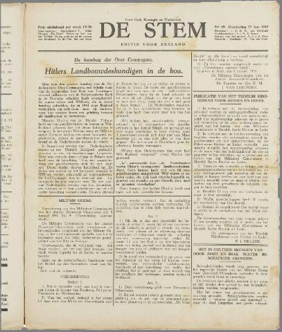 de Stem 1945-01-25