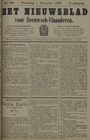 Nieuwsblad voor Zeeuwsch-Vlaanderen 1899-11-01