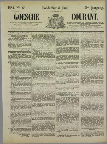 Goessche Courant 1884-06-05