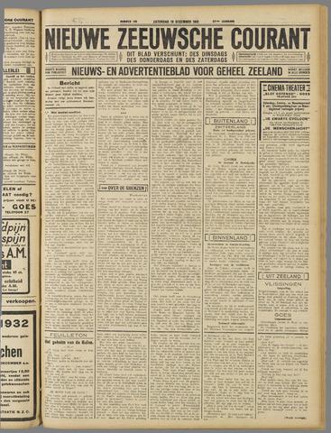 Nieuwe Zeeuwsche Courant 1931-12-19