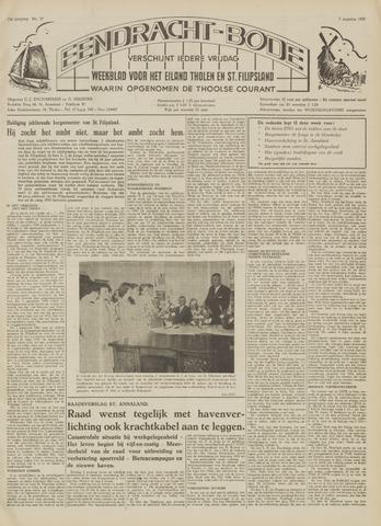 Eendrachtbode (1945-heden)/Mededeelingenblad voor het eiland Tholen (1944/45) 1959-08-07