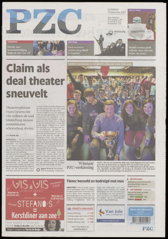 Provinciale Zeeuwse Courant 2013-12-14