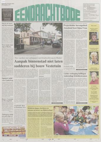Eendrachtbode (1945-heden)/Mededeelingenblad voor het eiland Tholen (1944/45) 2012-10-18
