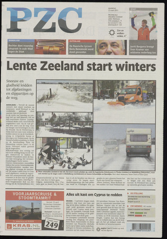 Provinciale Zeeuwse Courant 2013-03-25