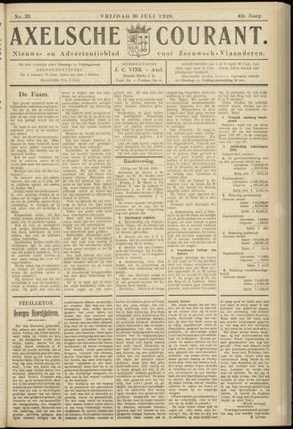 Axelsche Courant 1926-07-30
