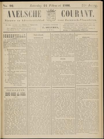Axelsche Courant 1906-02-24