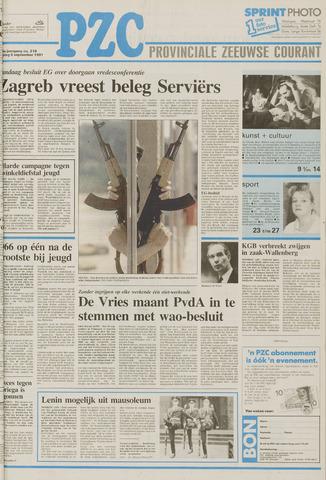 Provinciale Zeeuwse Courant 1991-09-06