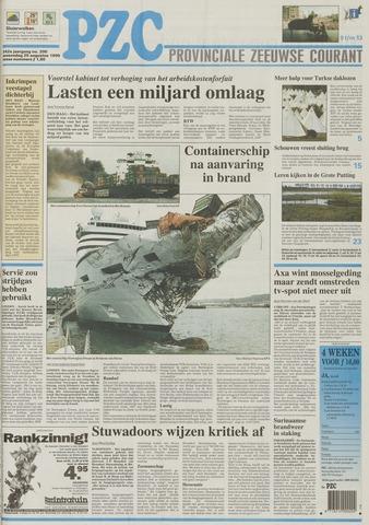 Provinciale Zeeuwse Courant 1999-08-25