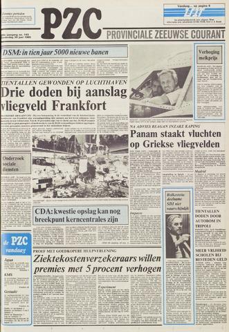 Provinciale Zeeuwse Courant 1985-06-20