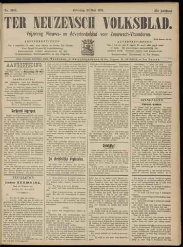 Ter Neuzensch Volksblad. Vrijzinnig nieuws- en advertentieblad voor Zeeuwsch- Vlaanderen / Zeeuwsch Nieuwsblad. Nieuws- en advertentieblad voor Zeeland 1911-05-20