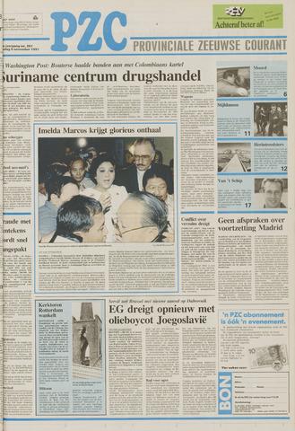 Provinciale Zeeuwse Courant 1991-11-05