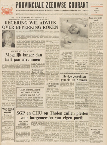 Provinciale Zeeuwse Courant 1971-01-14