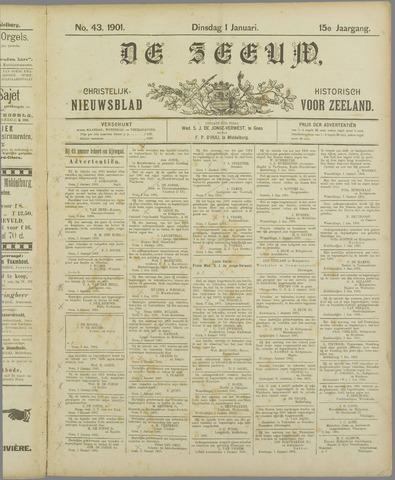 De Zeeuw. Christelijk-historisch nieuwsblad voor Zeeland 1901