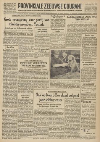 Provinciale Zeeuwse Courant 1952-10-02