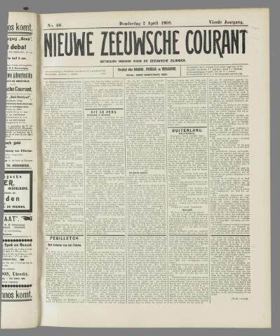 Nieuwe Zeeuwsche Courant 1908-04-02