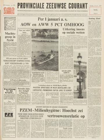 Provinciale Zeeuwse Courant 1970-11-14