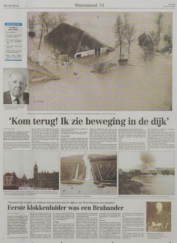 Watersnood documentatie 1953 - kranten 2003-01-18