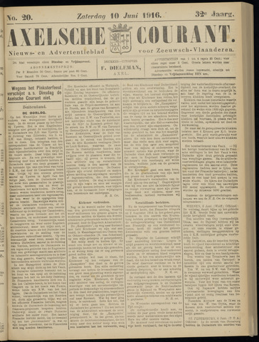 Axelsche Courant 1916-06-10