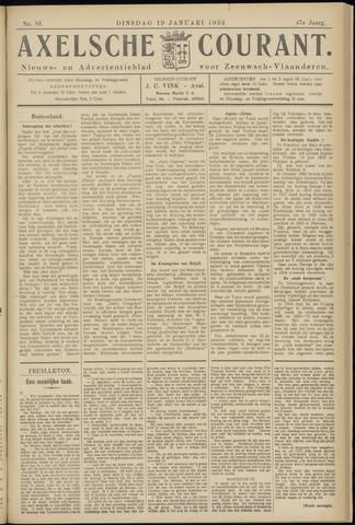 Axelsche Courant 1932-01-19