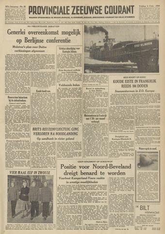 Provinciale Zeeuwse Courant 1954-02-05