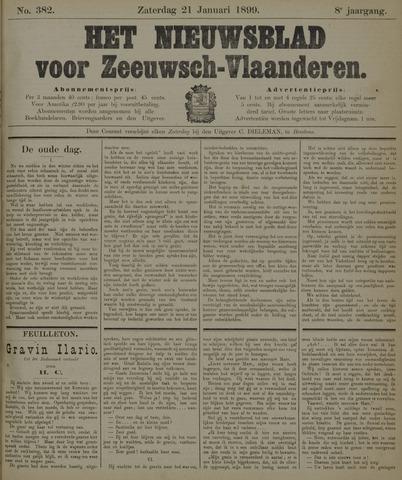 Nieuwsblad voor Zeeuwsch-Vlaanderen 1899-01-21