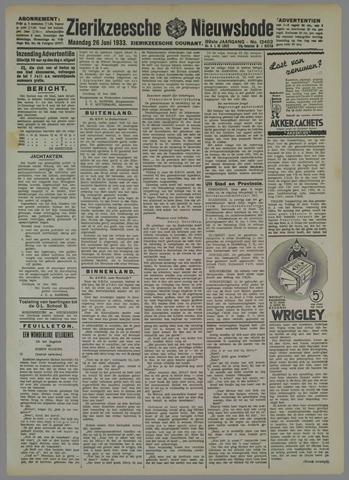Zierikzeesche Nieuwsbode 1933-06-26