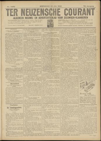 Ter Neuzensche Courant. Algemeen Nieuws- en Advertentieblad voor Zeeuwsch-Vlaanderen / Neuzensche Courant ... (idem) / (Algemeen) nieuws en advertentieblad voor Zeeuwsch-Vlaanderen 1936-07-29