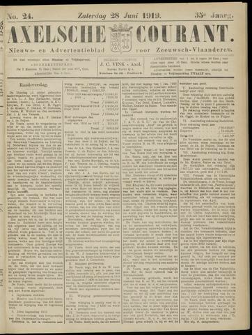 Axelsche Courant 1919-06-28