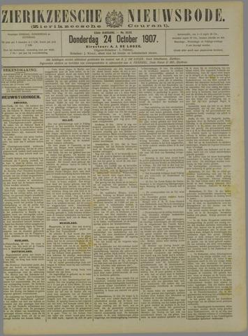 Zierikzeesche Nieuwsbode 1907-10-24
