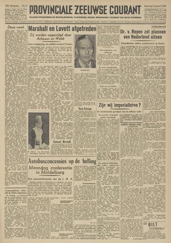 Provinciale Zeeuwse Courant 1949-01-08