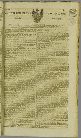 Middelburgsche Courant 1817-07-12