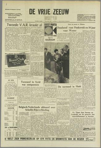 de Vrije Zeeuw 1963-05-11