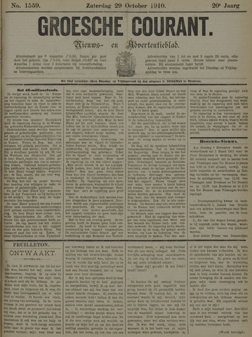 Groesche Courant 1910