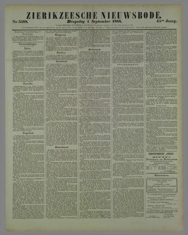 Zierikzeesche Nieuwsbode 1888-09-04