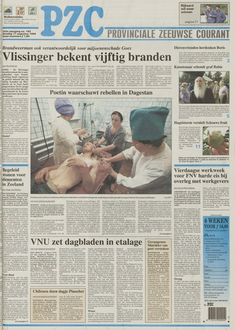 Provinciale Zeeuwse Courant 1999-08-17