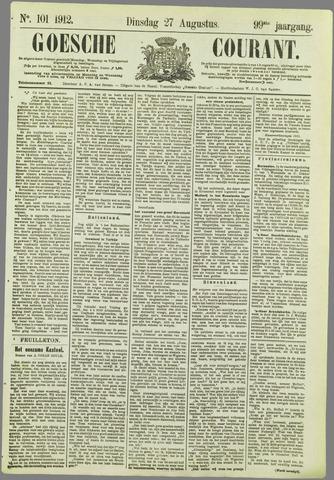 Goessche Courant 1912-08-27