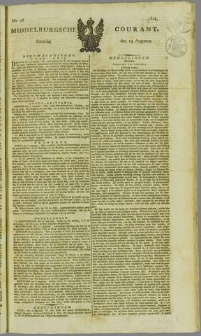 Middelburgsche Courant 1824-08-14